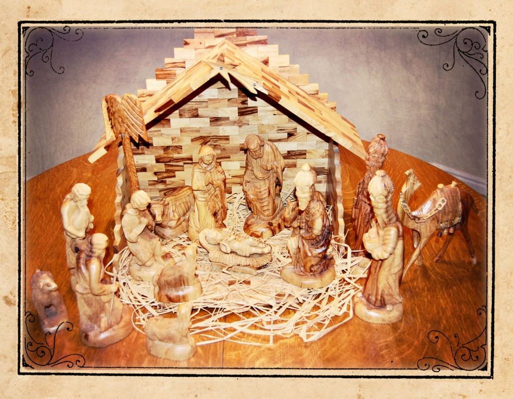 Olive Wood Nativity www.mytributejournal.com