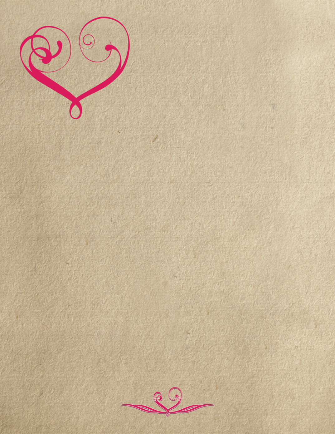 Valentines Paper Stationary_Pink_8.5x112