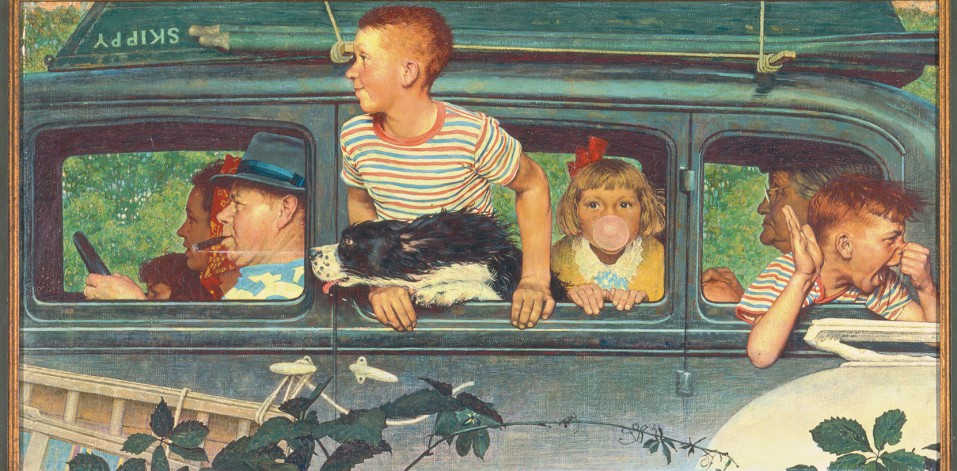Norman Rockwell Family Image