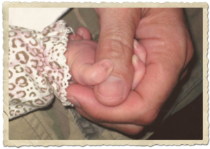 """""""Baby's hand"""" picture"""