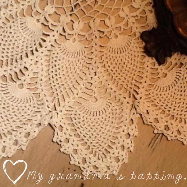 Vintage lace tatting www.mytributejournal.com