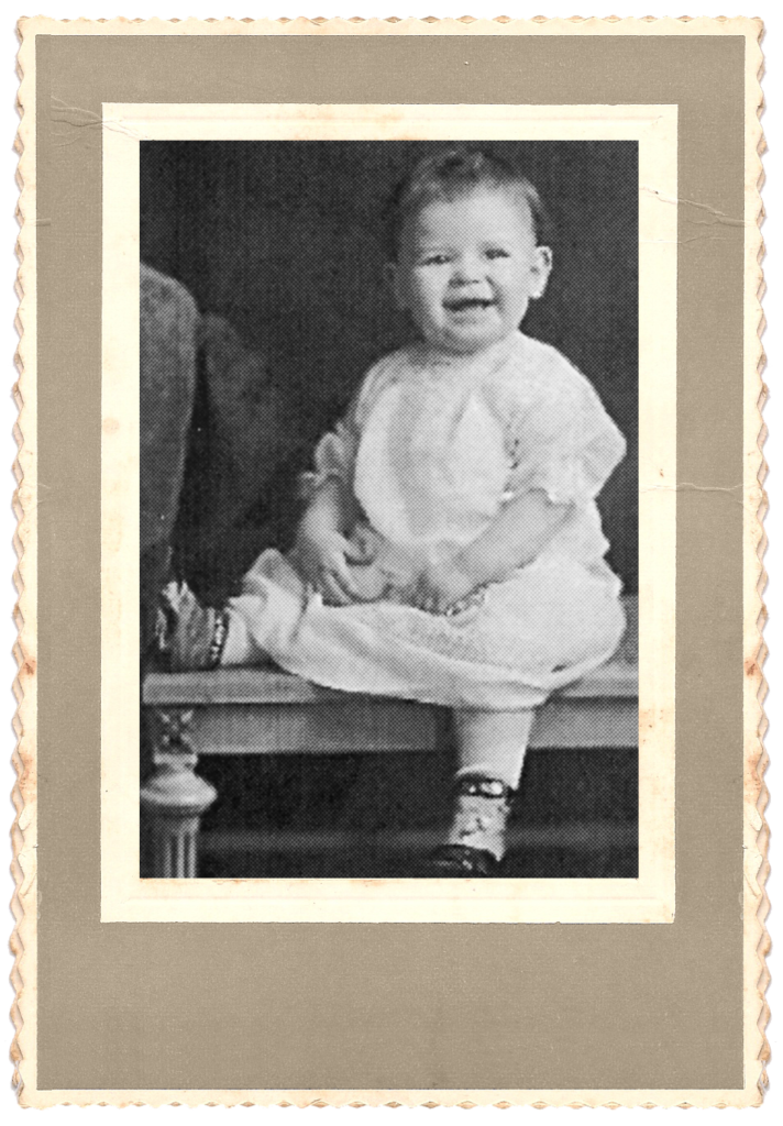 Mom as a baby