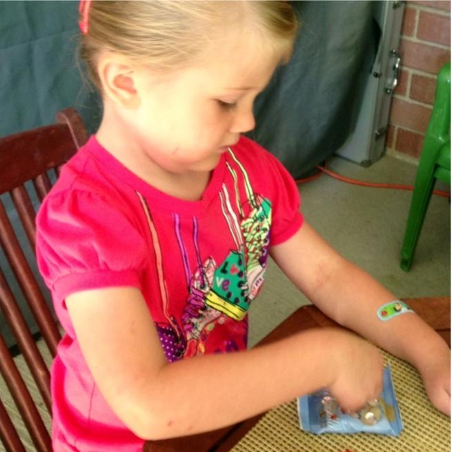 Making a princess necklace