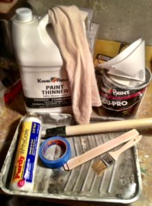 Painting supplies