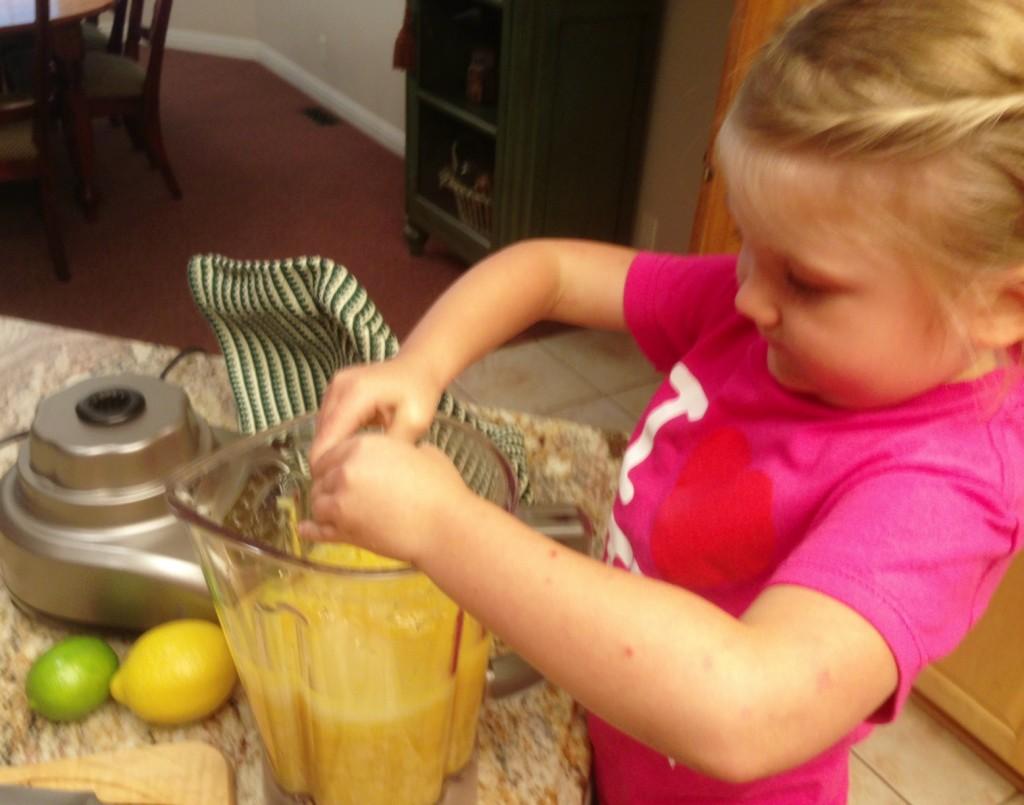 Making Disney's Pineapple Whip!