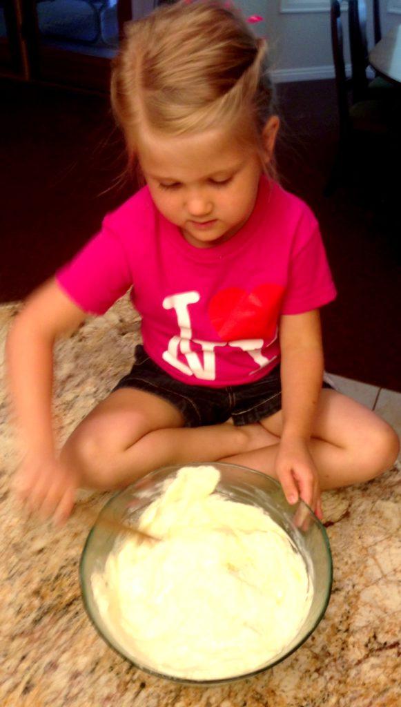 Stirring Disney's Pineapple Whip Treat