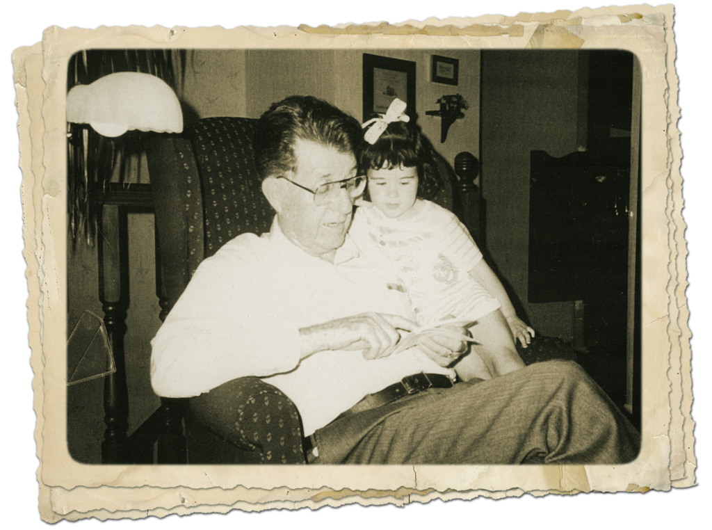 My dad, a great grandpa