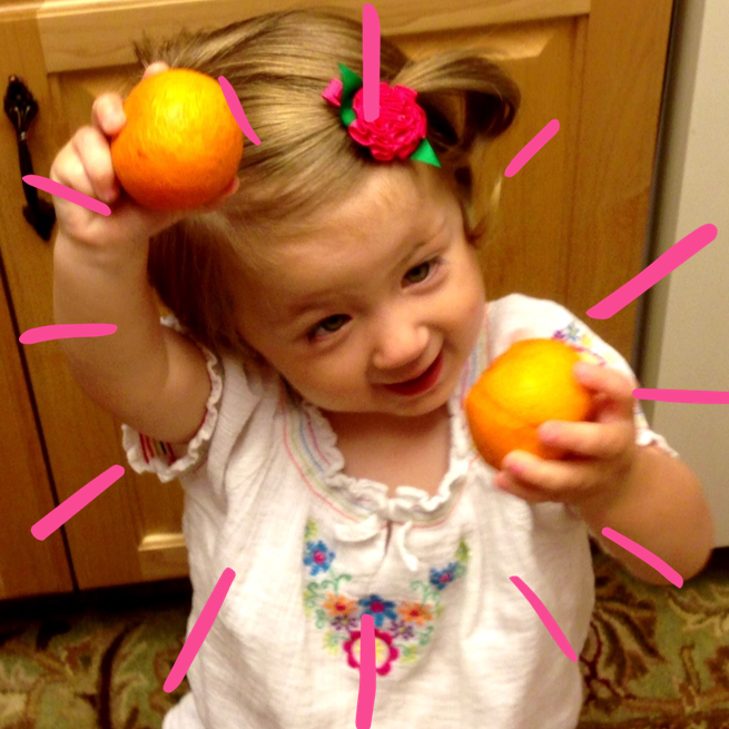 """""""O"""" is for oranges. www.mytributejournal.com"""