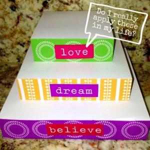 Love, dream, believe! www.mytributejournal.com