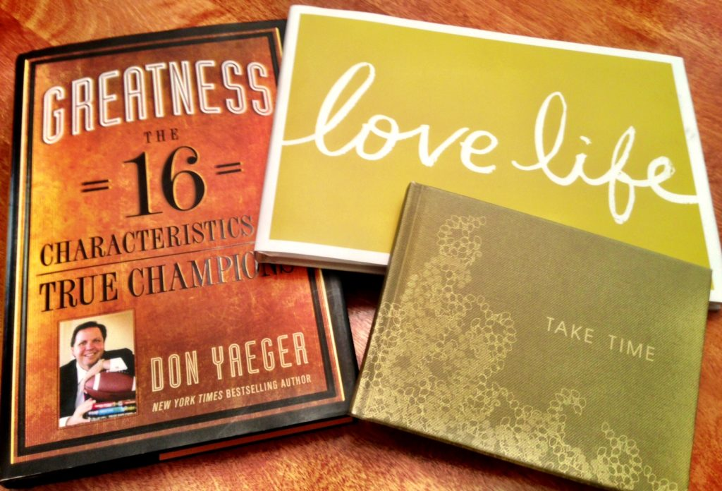 Inspirational books! www.mytributejournal.com
