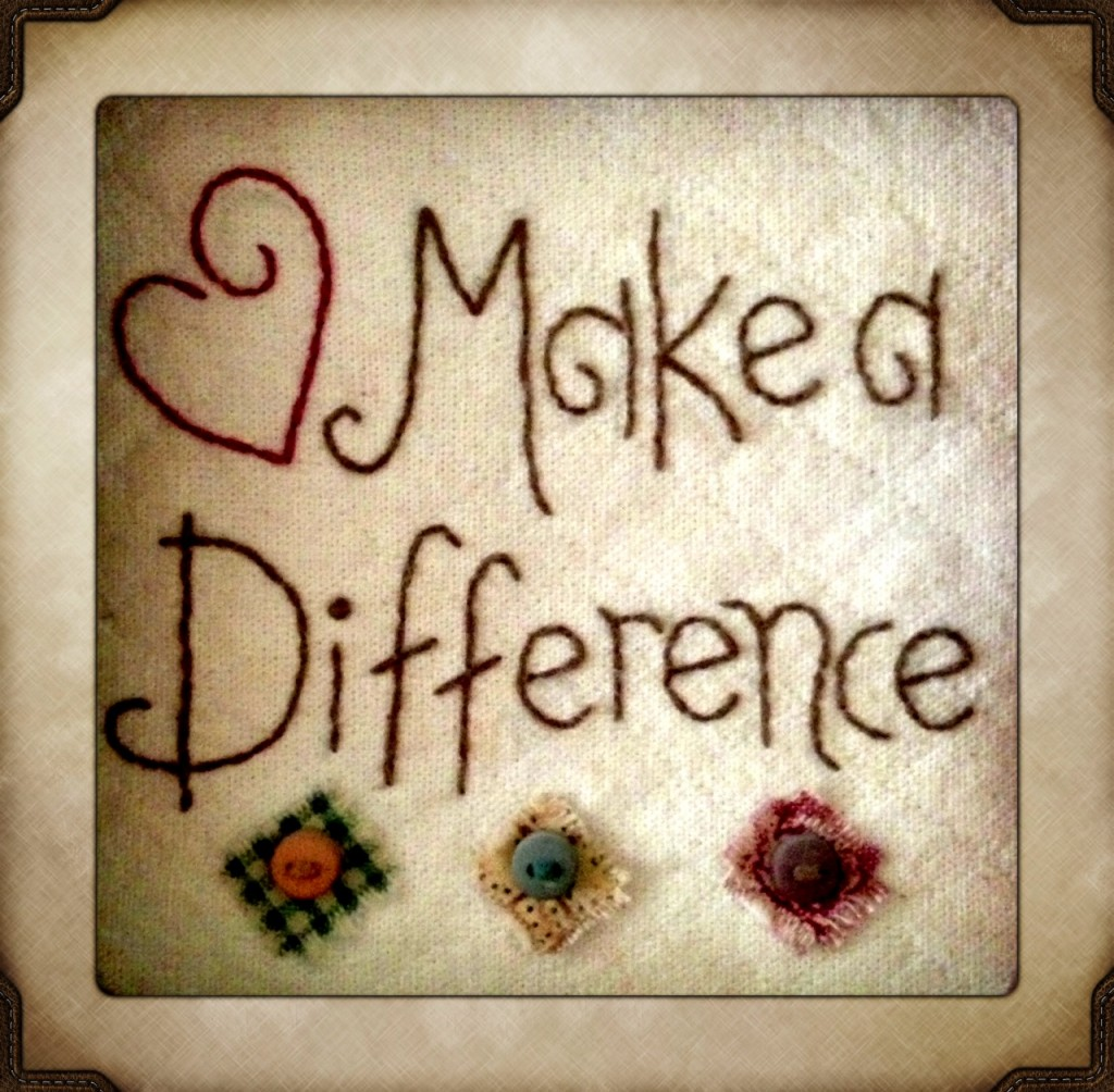 """""""Make A Difference"""" quote www.mytributejournal.com"""