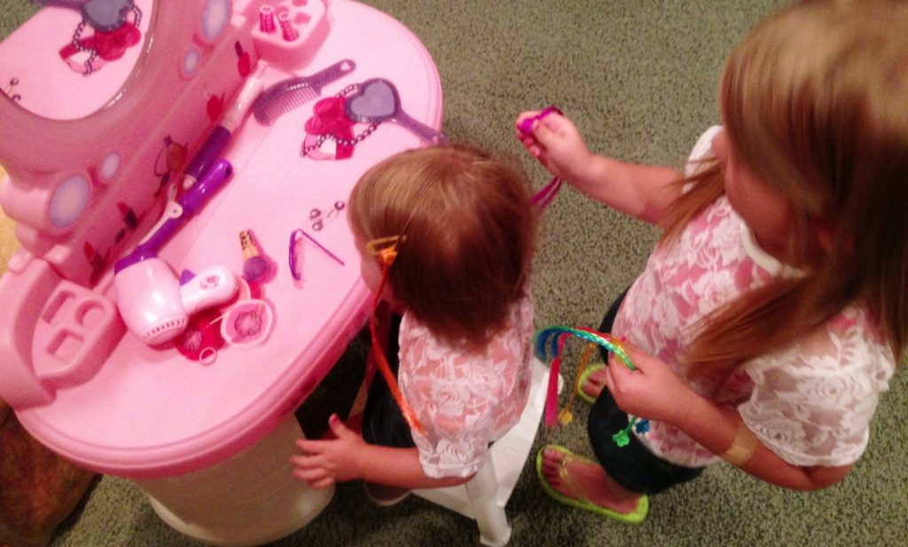 """Playing """"beauty parlor""""! www.mytributejournal.com"""