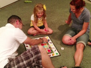 """""""Game Night"""" with Jake and Whitney! www.mytributejournal.xom"""
