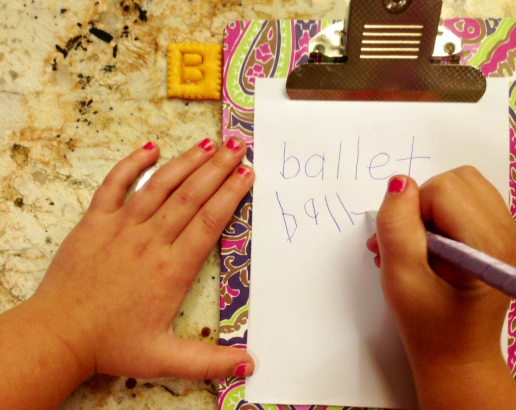 """""""B"""" is for ballet! www.mytributejournal.com"""