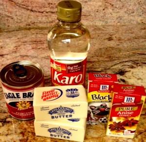 Black Licorice Taffy ingredients www.mytributejournal.com