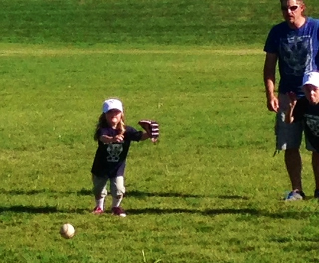 Playing t-ball! www.mytributjournal.com