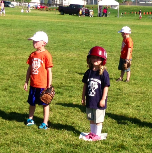 Playing t-ball! www.mytributejournal.com