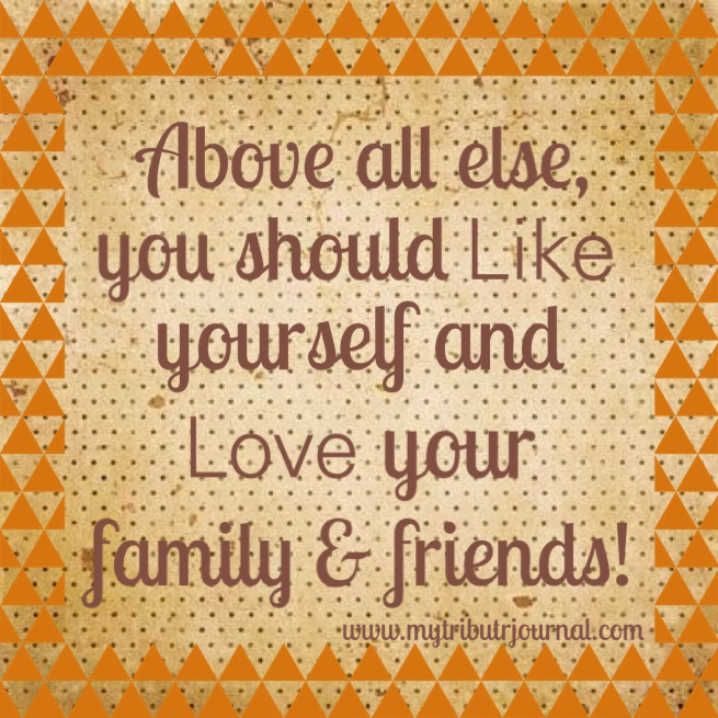 One year anniversary! Like yourself and love your family! www.mytributejournal.com