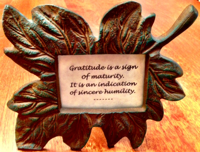 Gratitude quote!  www.mytributejournal.com