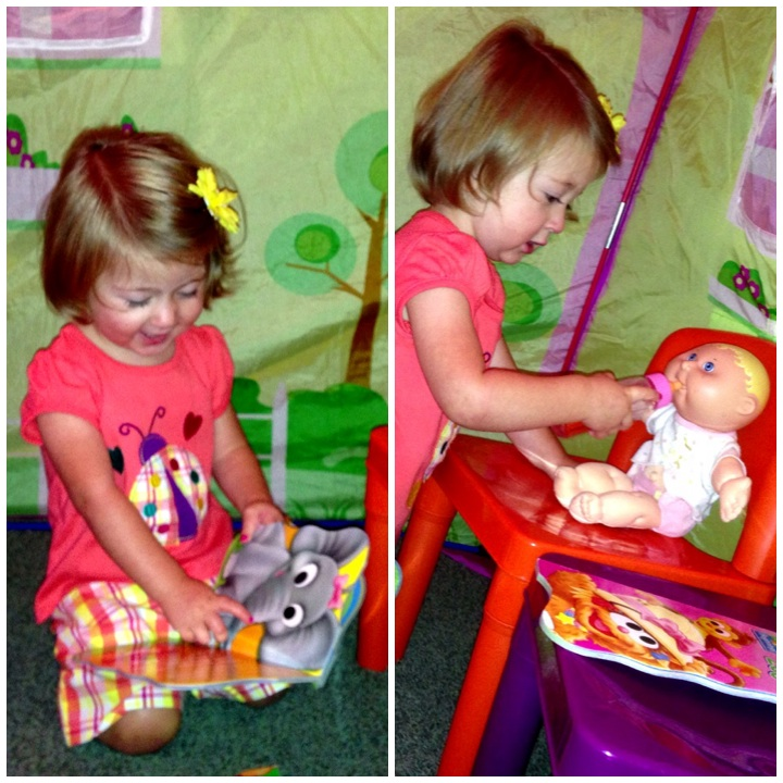 Play Tent! Grandma's Favorite Things! www.mytributejournal.com
