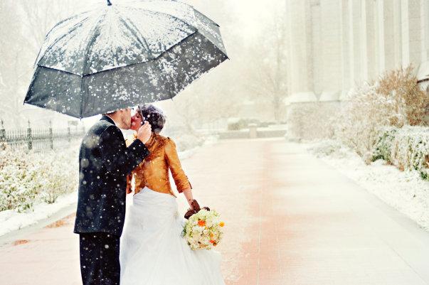 Winter wedding! www.mytributejournal.com