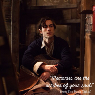"""The Book Thief--""""Memories are the scribes of your soul!"""" www.mytributejournal.com"""