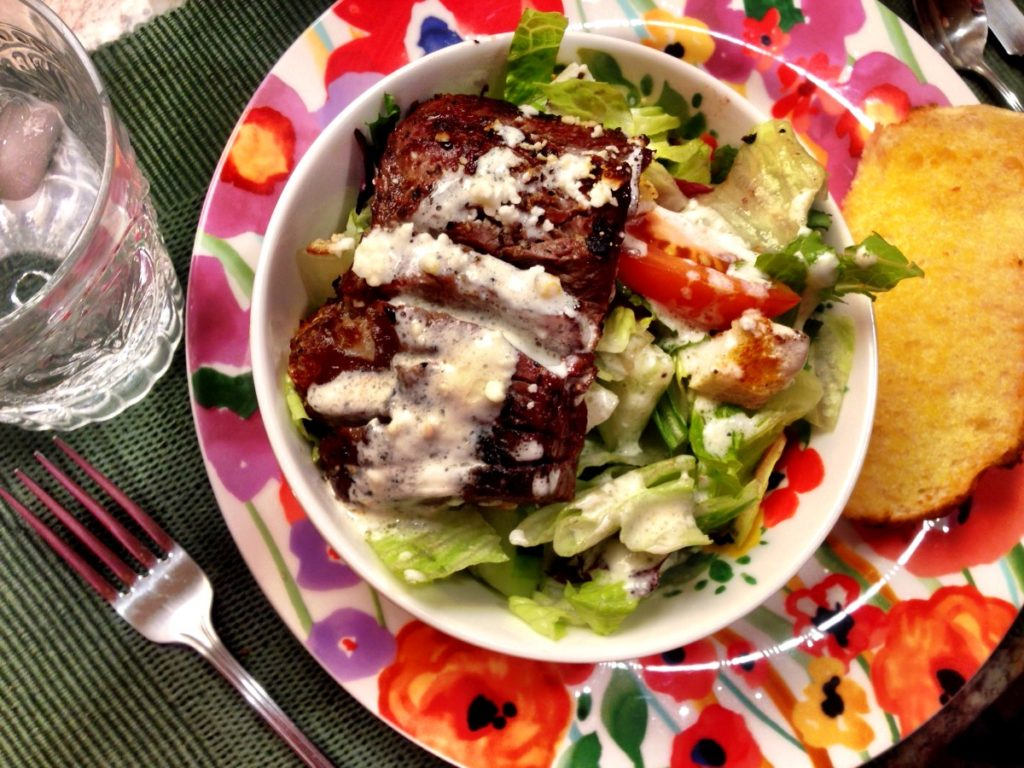 Grilled Steak Salad  www.mytributejournal.com
