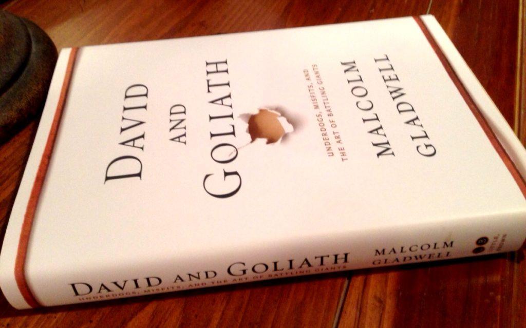 David and Goliath by Malcom Gladwell www.mytributejournal.com