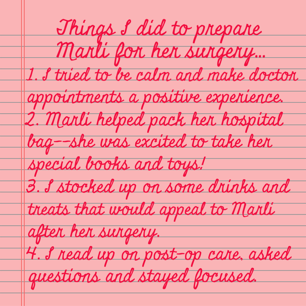 Preparing your child for surgery. www.mytributejournal.com