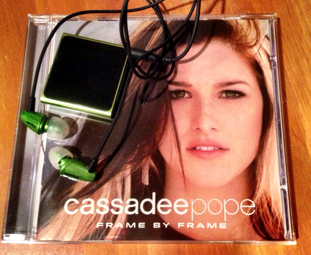 Cassadee Pope CD-great workout music! www.mytributejournal.com