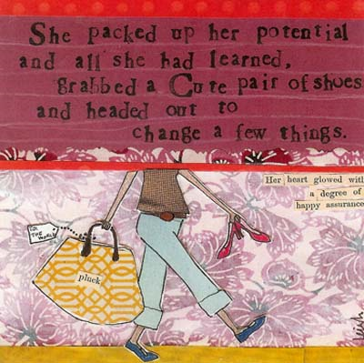 Curly Girl personal potential quote! www.mytributejournal.com