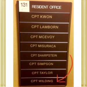 Fort Sill Dental Residency Plaque www.mytributejournal.com