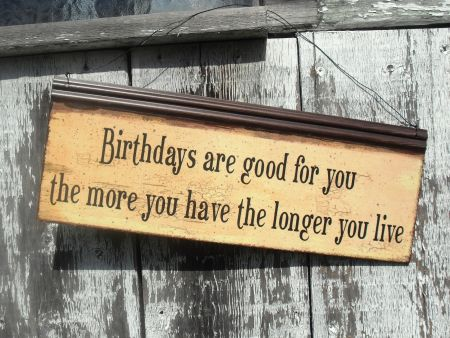 Birthdays are good for you! www.mytributejournal.com