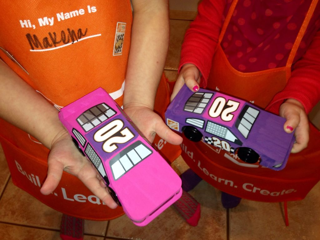 Making race cars!  www.mytributejournal.com