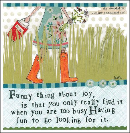 Being joyful Curly Girl Card! www.mytributejournal.com