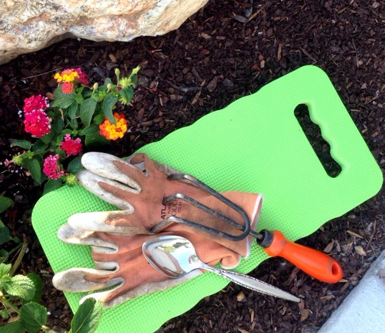 Garden Tehrapy!  Unconventional Yard Tools!  www.mytributejournal.com