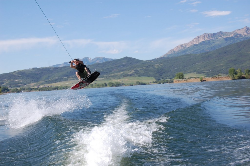 Watering skiing at Pineview www.mytributejournal.com