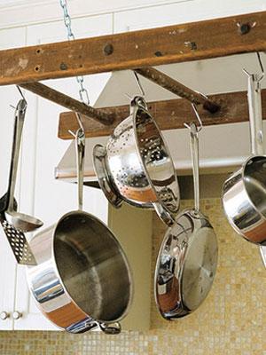 Ladder Pot rack www.mytributejournal.com