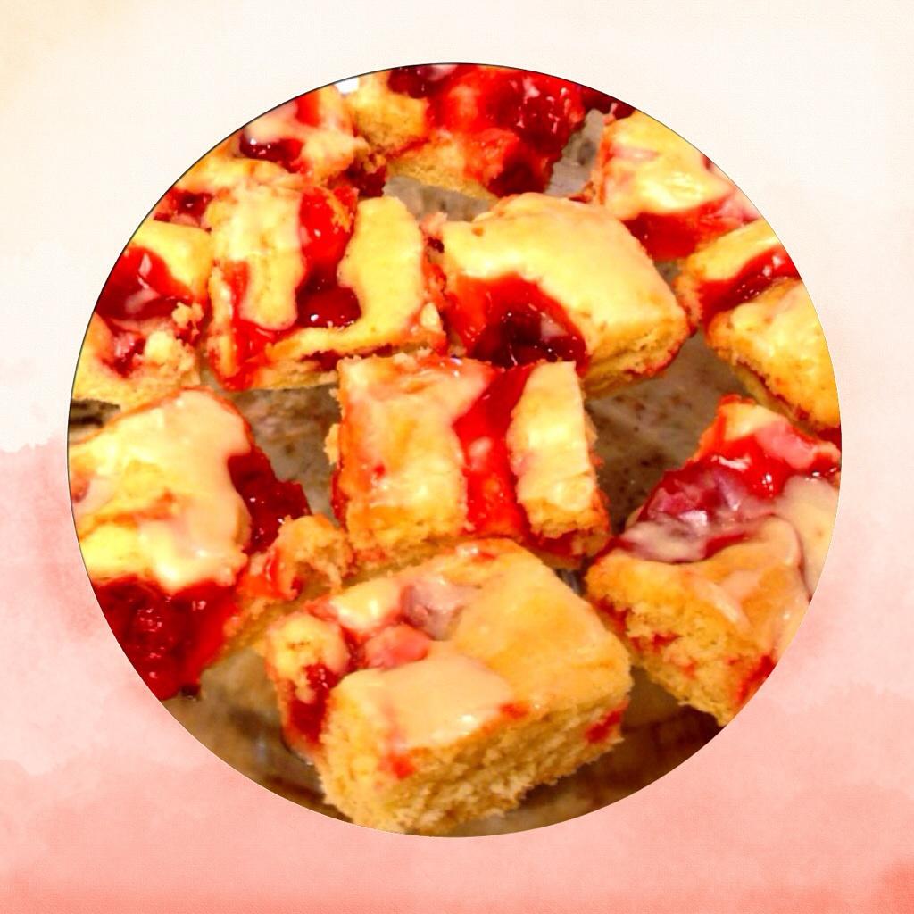 Cherry Dessert Squares. www.mytributejournal.com