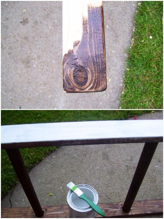 DIY Ladder Towel Rack www.mytributejournal.com