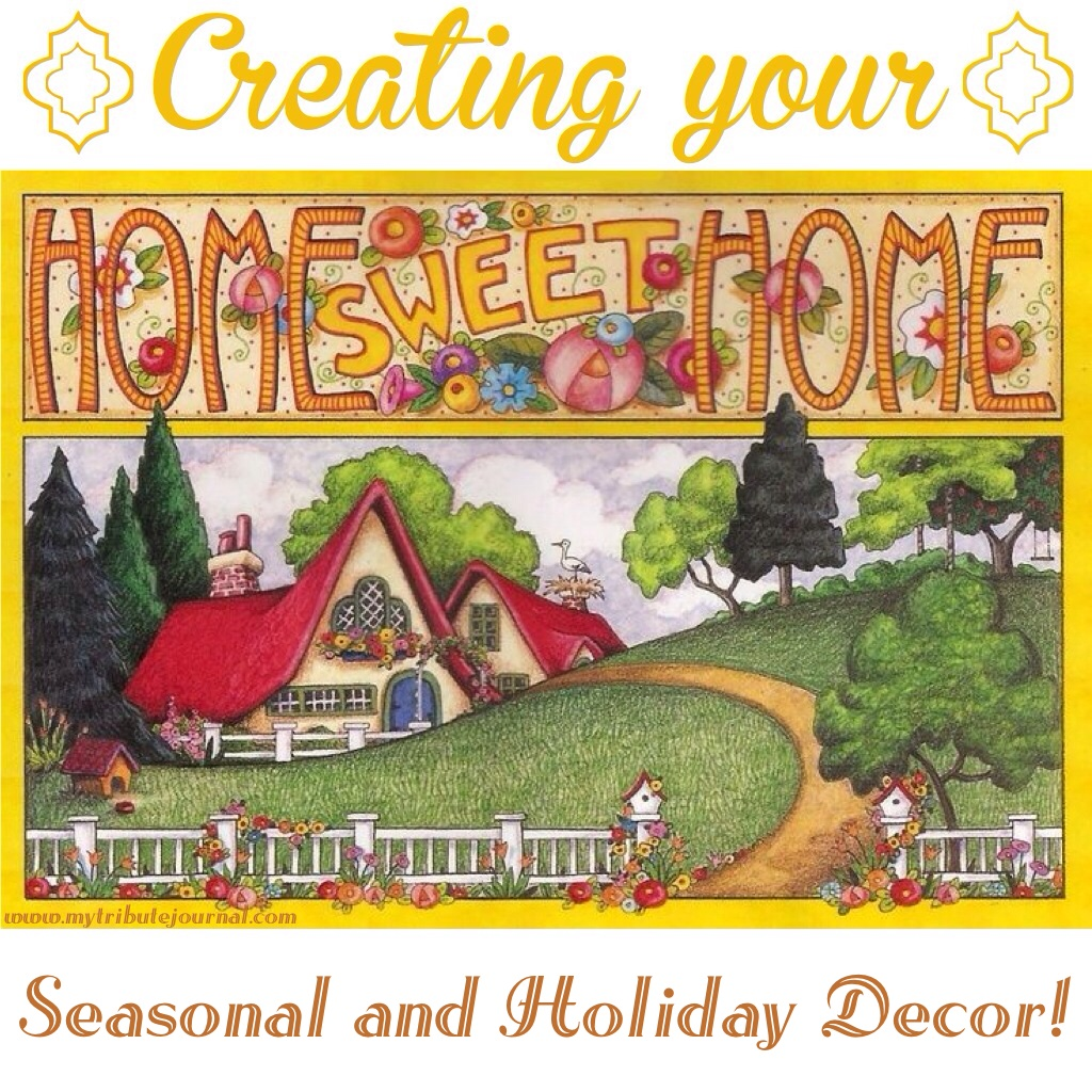 Seasonal and Holiday Decor!