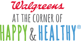 """Walgreen's Ad Slogan- """"At the corner of happy and Healthy!"""" www.mytributejournal.com"""