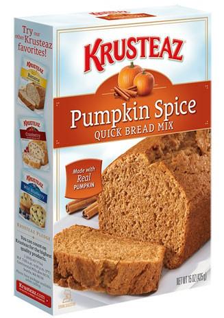 Pumpkin Spice Quick Bread Mix www.mytributejournal.com