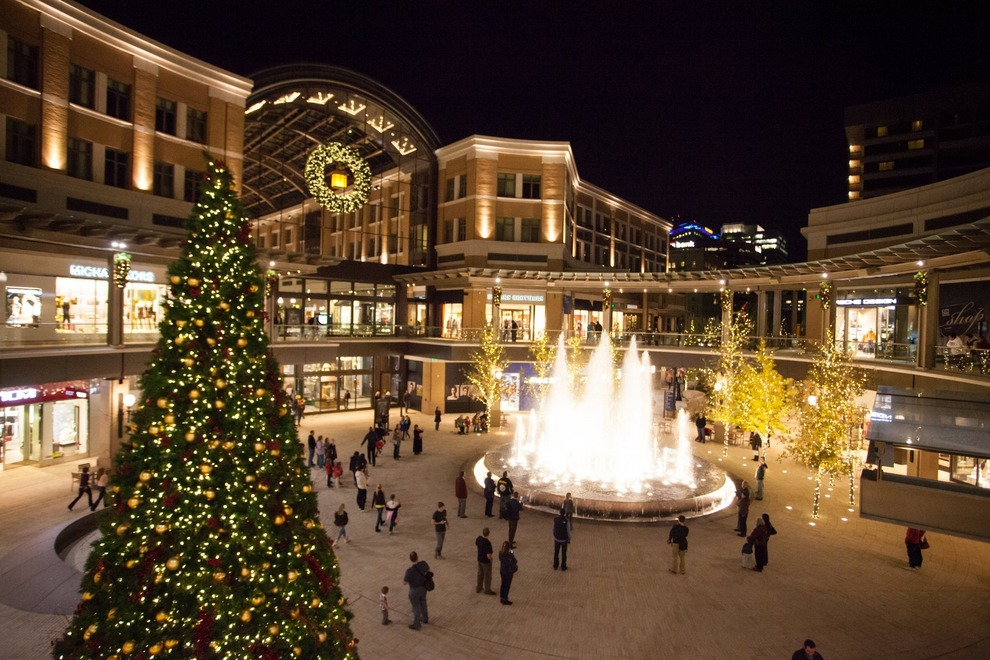 City Creek Mall at Christmas! www.mytributejournal.com