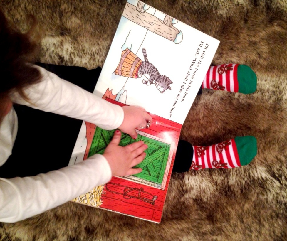 Reading Christmas books! www.mytributejournal.com