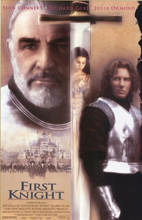 """""""First Knight"""" movie poster www.mytributejournal.com"""
