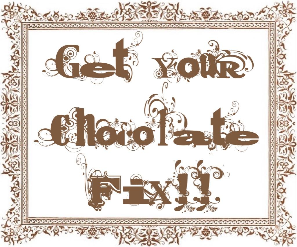 """Get Your Chocolate Fix! www.mytributejournal.com"