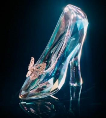 Cinderellas glas slipper  www.mytributejournal.com