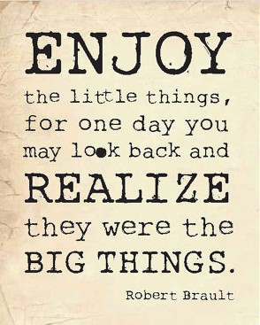 Little Things Mean A Lot! www.mytributejournal.com