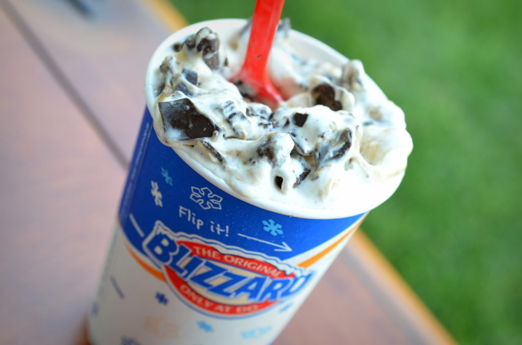Dairy Queen's Chocolate Mint Blizzard www.mytributejournal.com